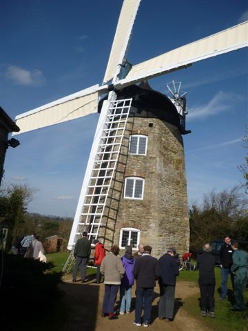 Volunteers see Mill turning after restoration